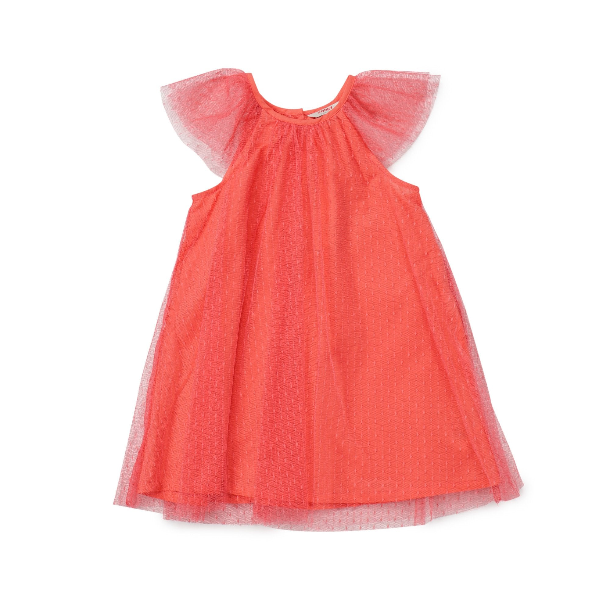 Poney Girls Sleeveless Dress 8323 (6mths-12yrs)