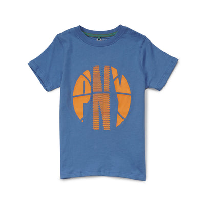 Poney Boys Blue Short Sleeve Tee 8344 (6mths-12yrs)