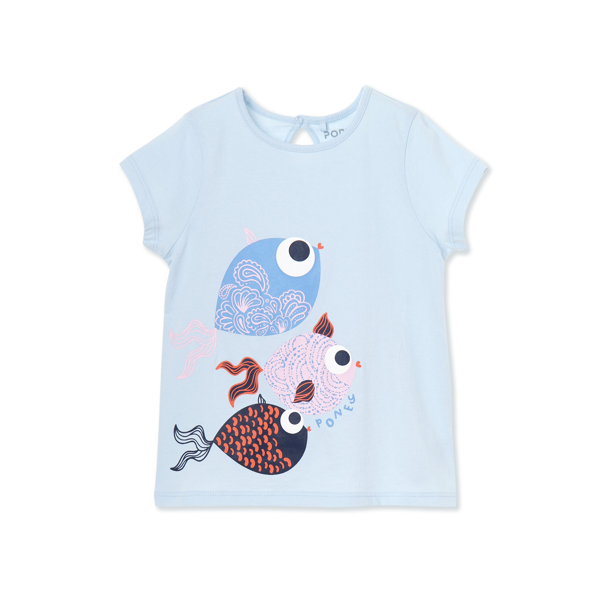 Poney Girls ShortSleeve Tee 8449 (6mths-12yrs)