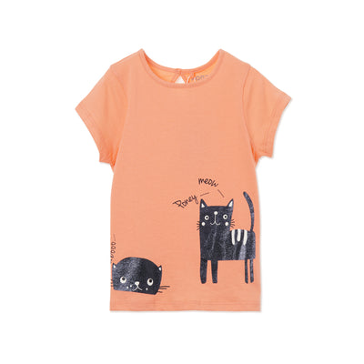 Poney Girls ShortSleeve Tee 8452 (6mths-12yrs)