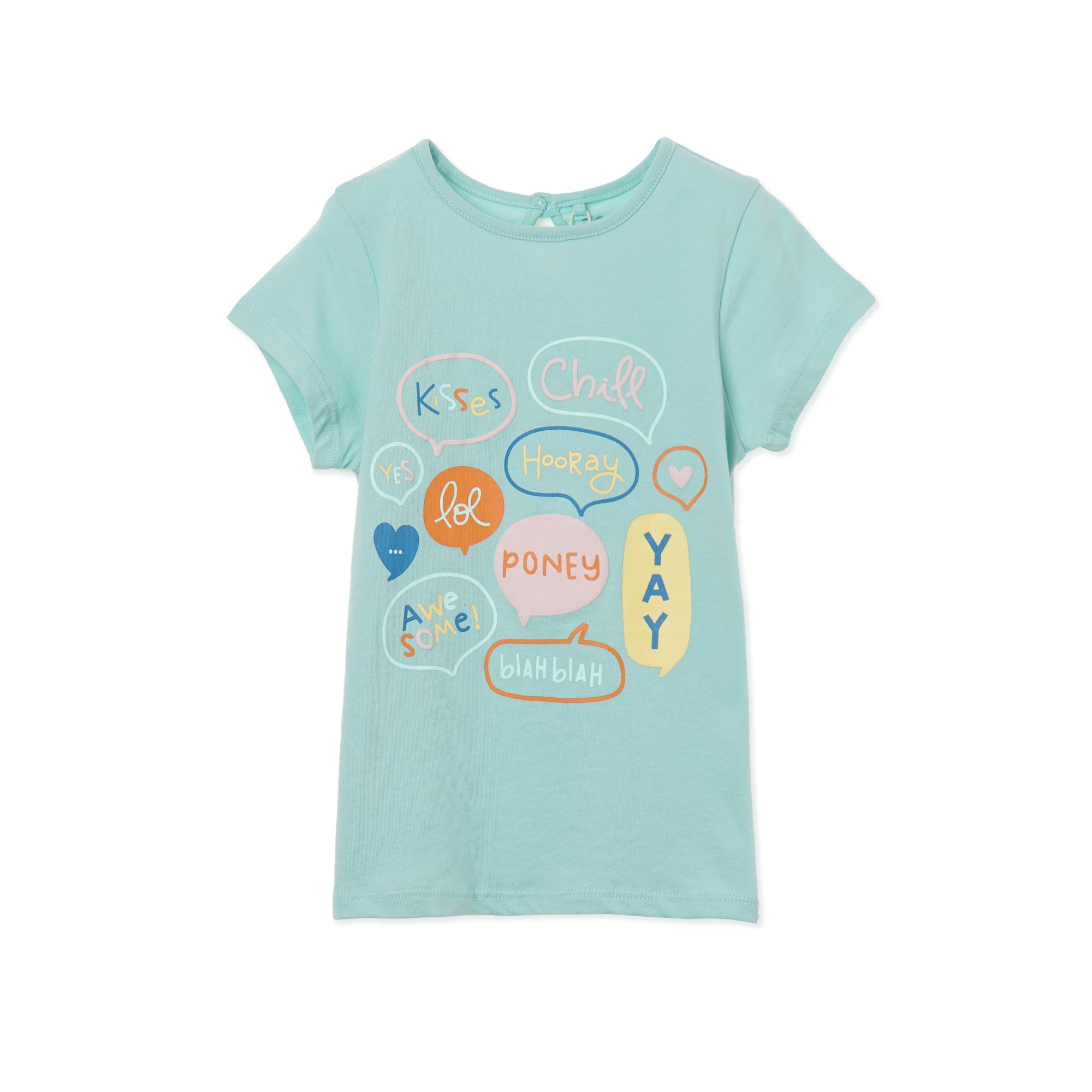 Poney Girls ShortSleeve Tee 8454 (6mths-12yrs)