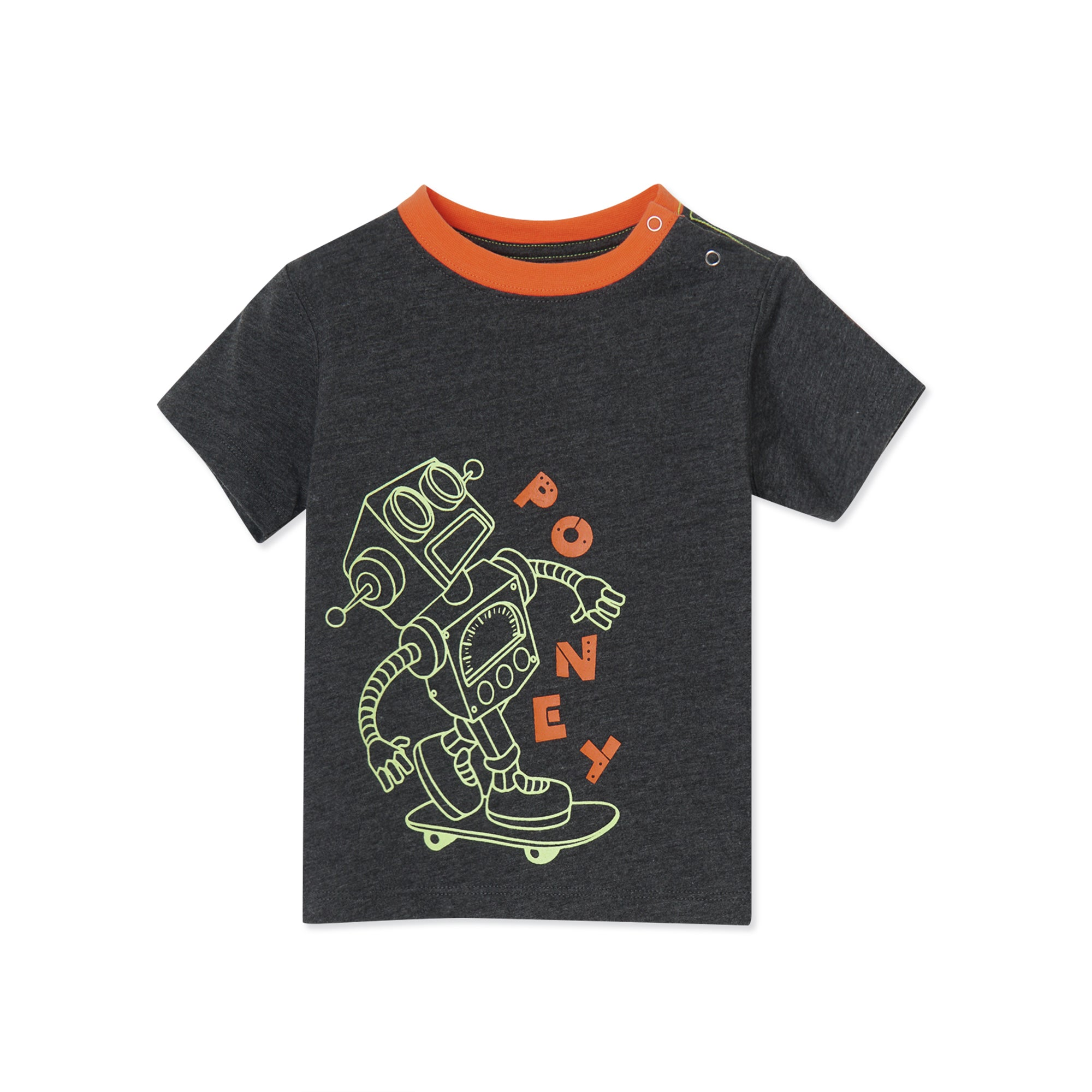 Poney Boys S/Sleeve Tee 8501 (6mths-12yrs)
