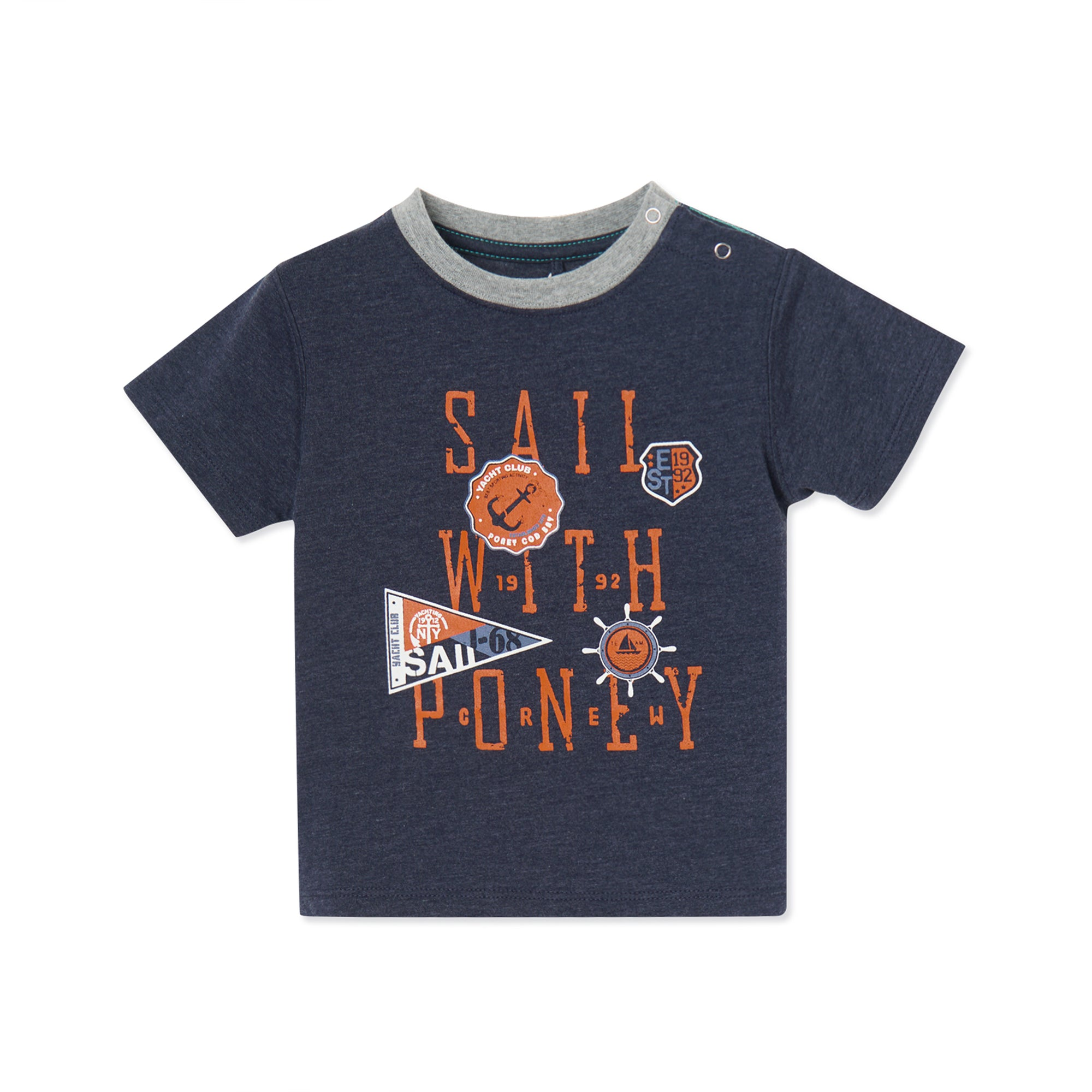 Poney Boys S/Sleeve Tee 8503 (6mths-12yrs)
