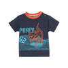 Poney Boys S/Sleeve Tee 8508 (6mths-12yrs)