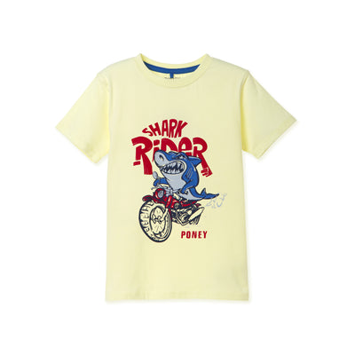 Poney Boys S/Sleeve Tee 8516