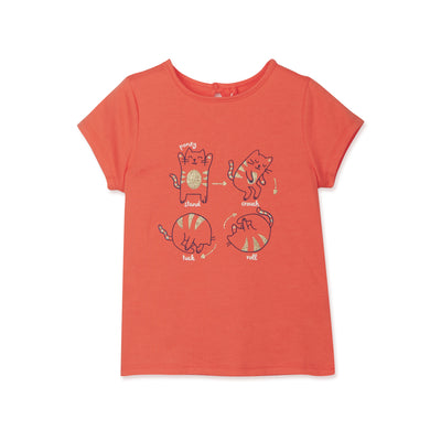 Poney Girls S/Sleeve Tee 8541