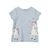 Poney Girls S/Sleeve Tee 8562