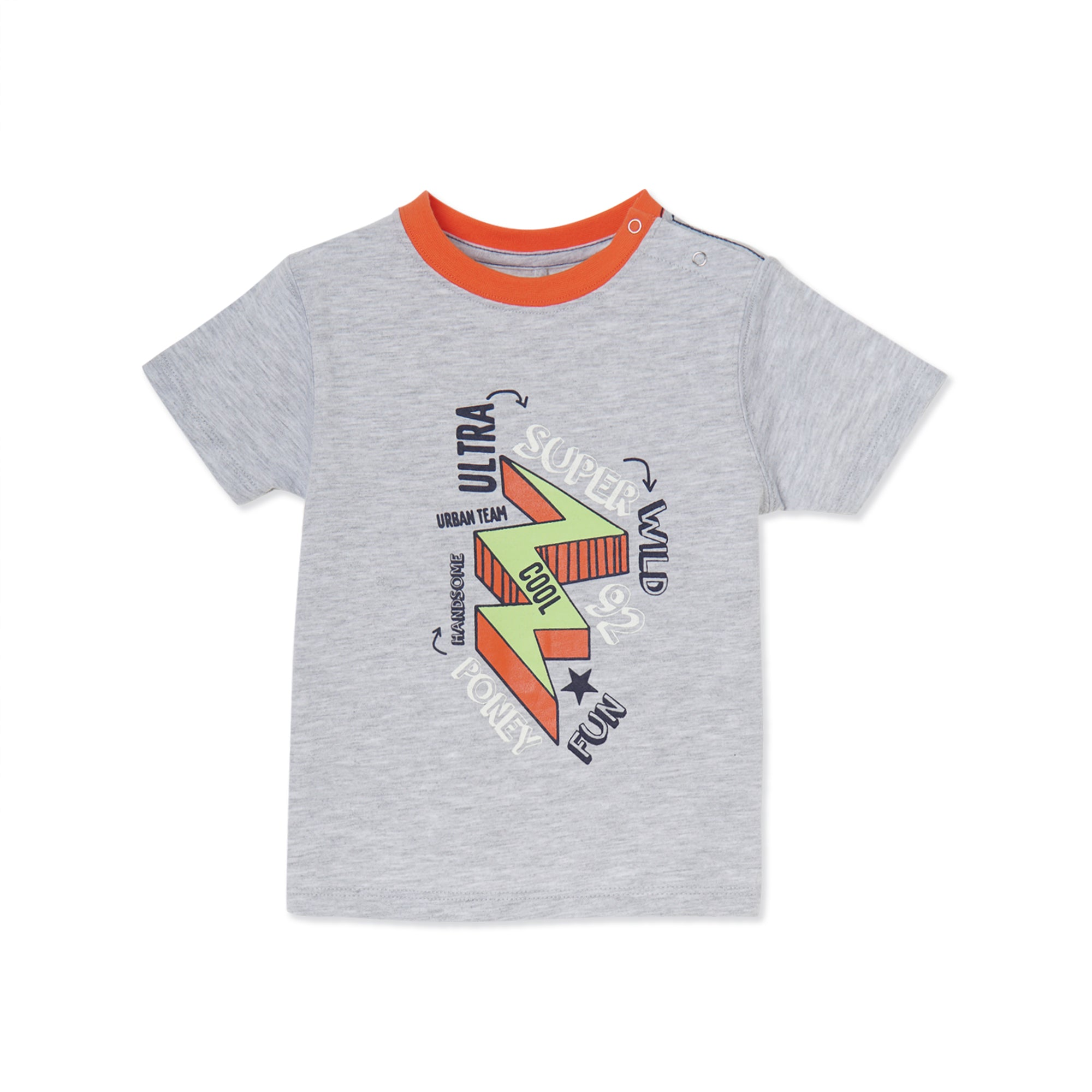 Poney Boys S/Sleeve Tee 8570 (6mths-12yrs)