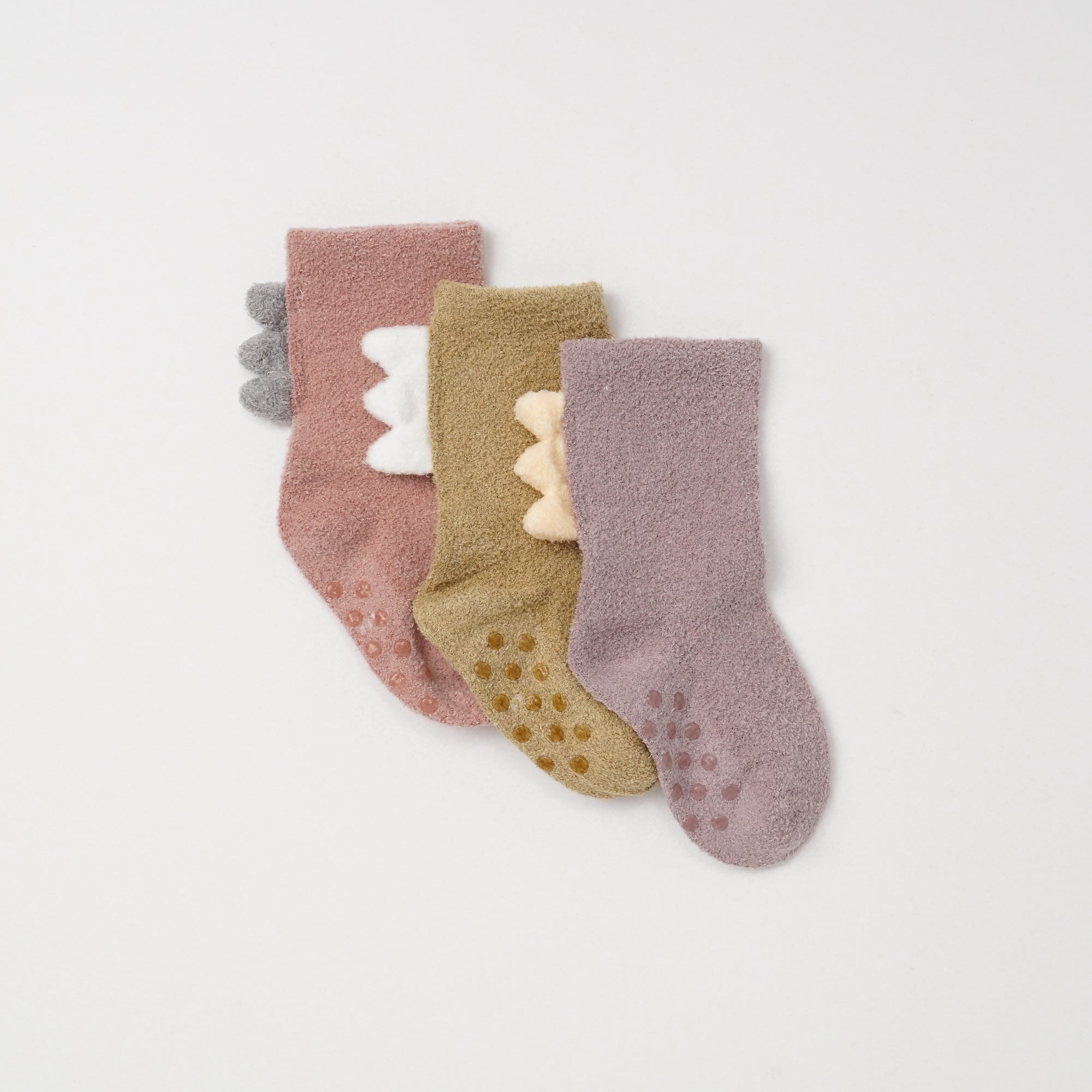 Poney Baby Girls 3-Pack Socks 9290