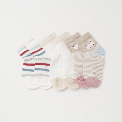 Poney Girls 3-Pack Socks 9294
