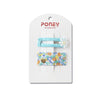 Poney Blue 2pc Clip Set CTO1-1303