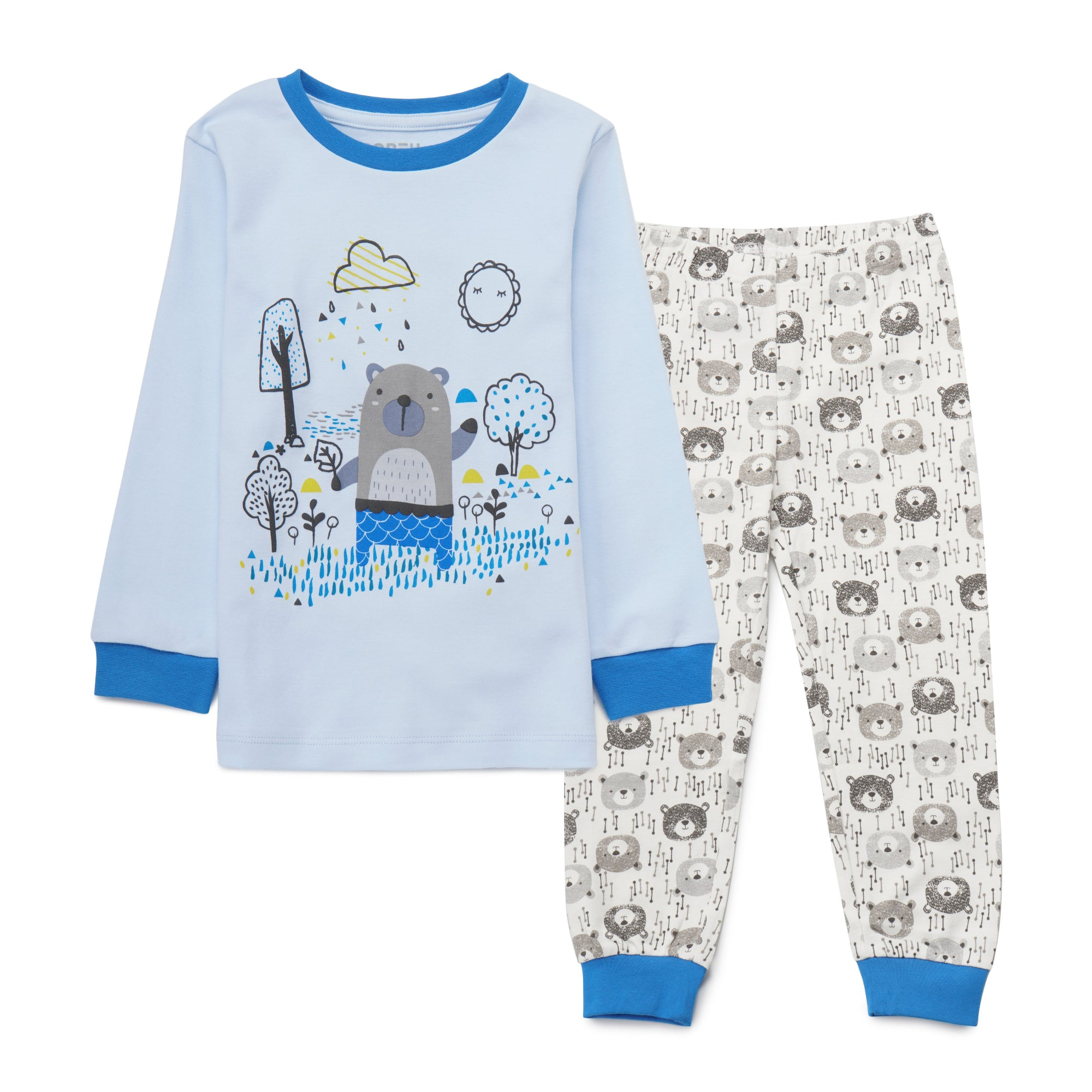 Boys Lt.Blue Pyjamas PLB09