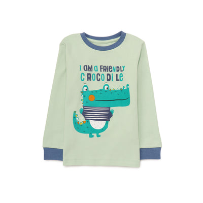 Boys Lt.Green Pyjamas PLB11