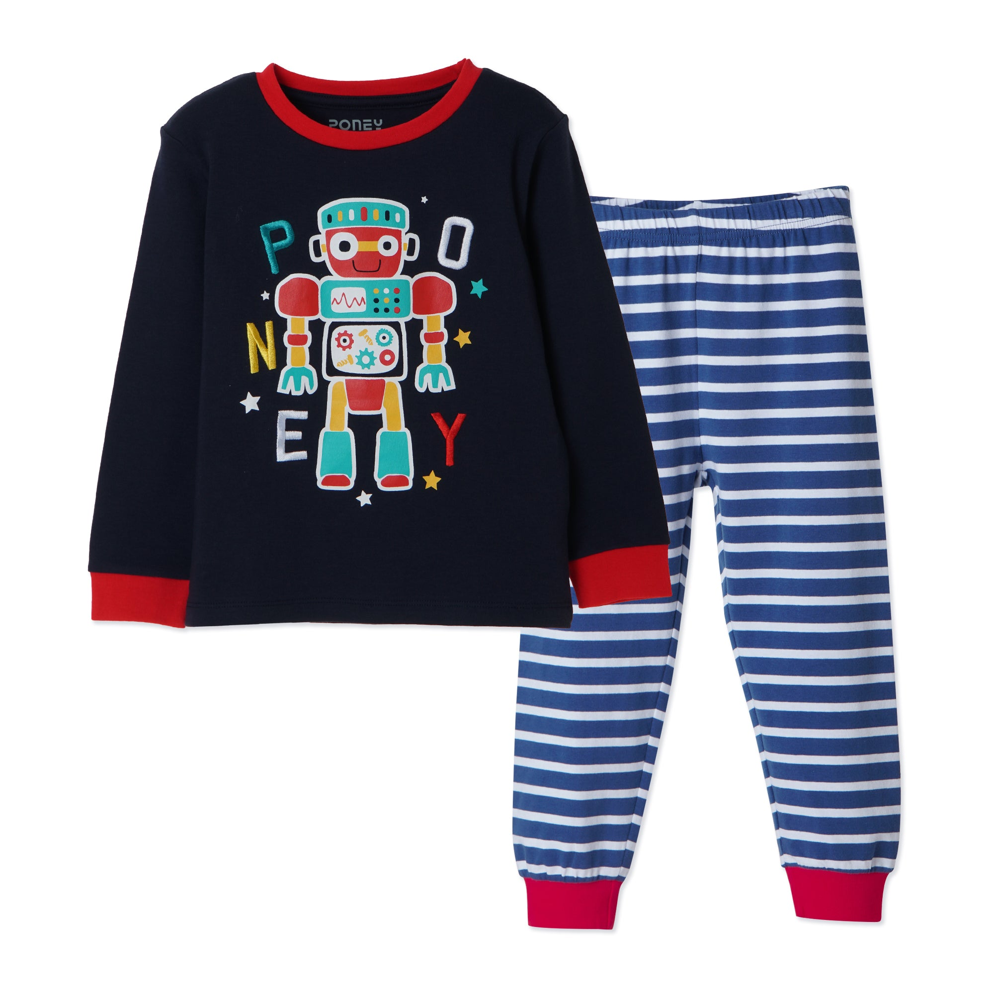 Boys Navy Pyjamas PLB20
