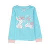Girls Lt.Blue Pyjamas PLG13