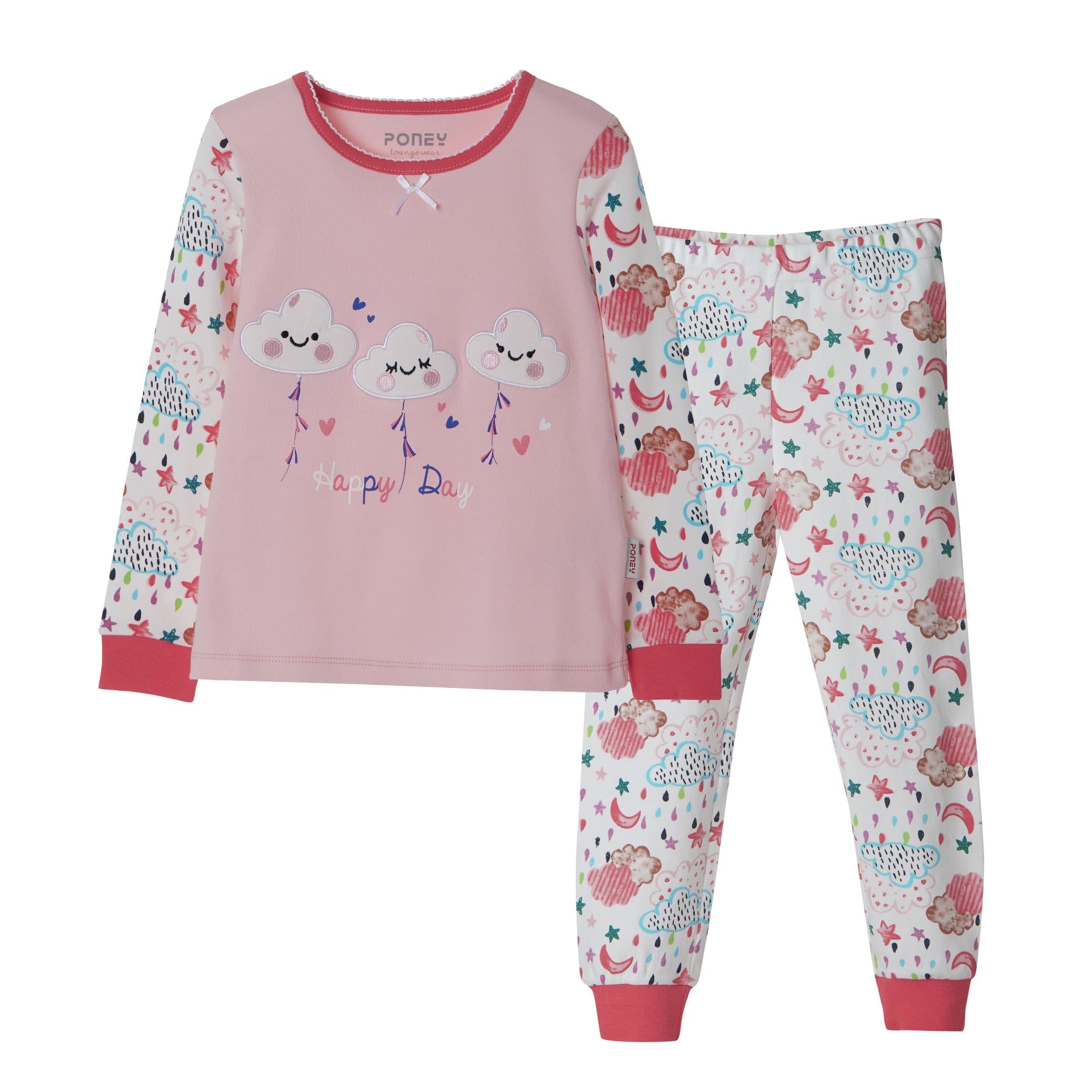 Girls Fuchsia Pyjamas PLG17