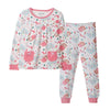 Girls Fuchsia Pyjamas PLG18