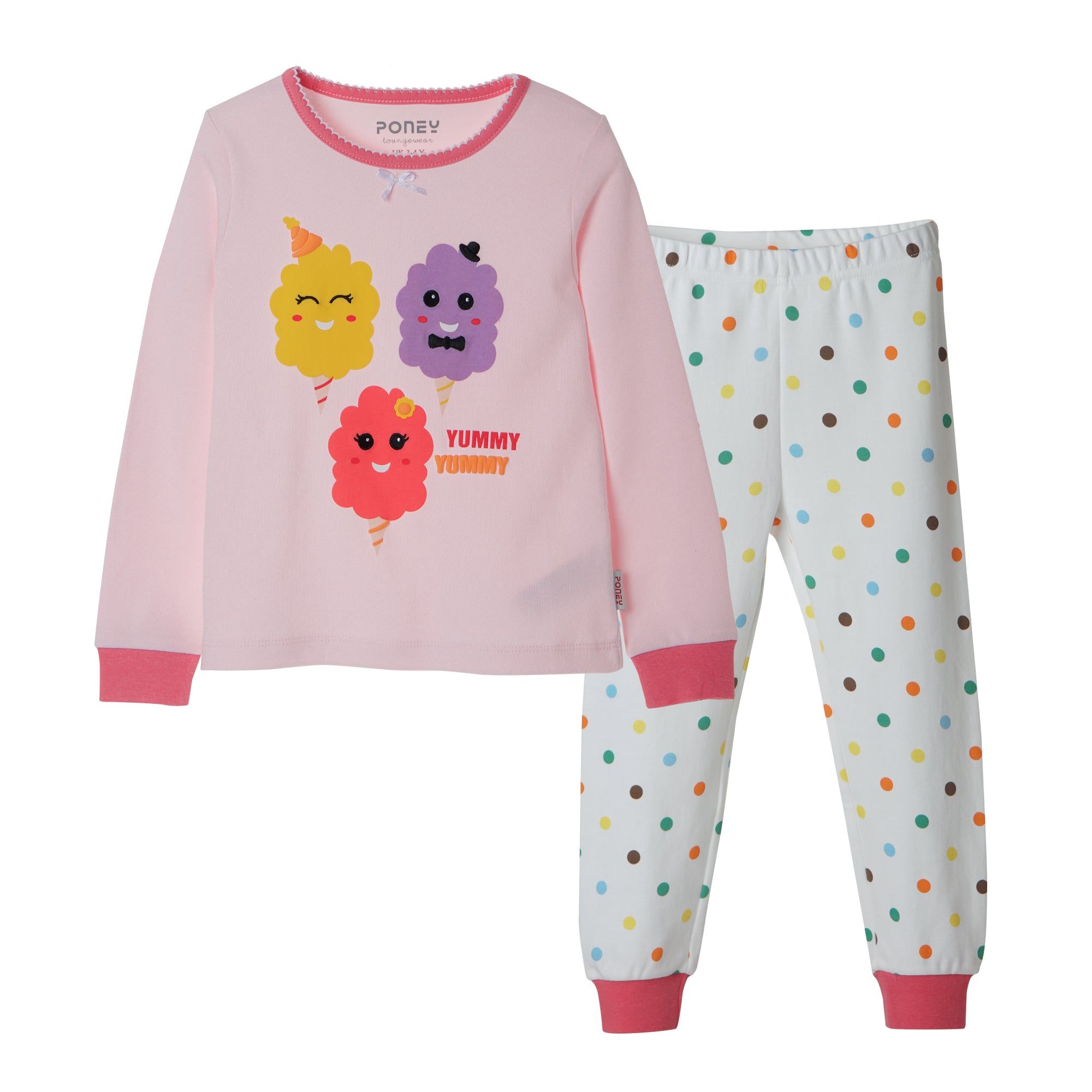 Girls Pink Pyjamas  PLG21