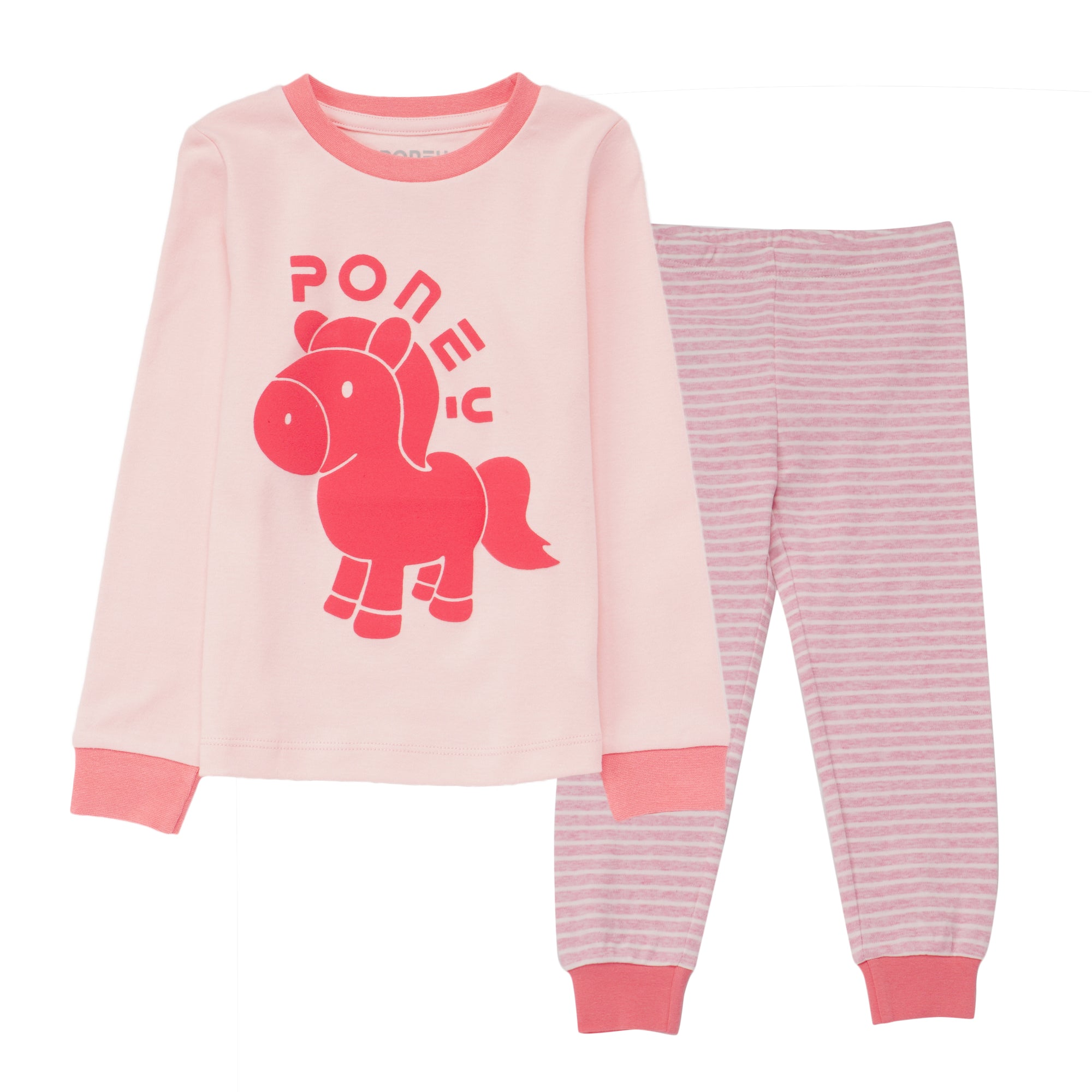 Girls Lt.Pink Pyjamas PLS02