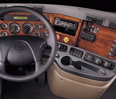 Freightliner Cascadia Dash and Interior