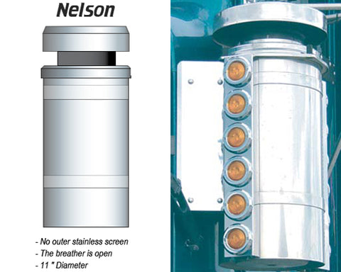 Nelson brand air cleaner breathers diagram