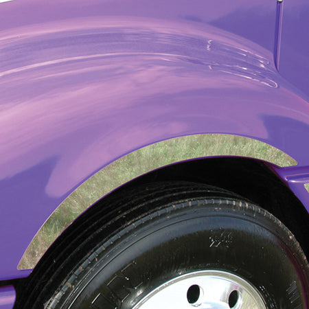Freightliner Columbia stainless steel front side fender trim - PAIR