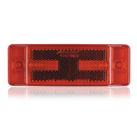 "Red 2"" x 6"" rectangular 8 diode LED marker/TURN SIGNAL light"
