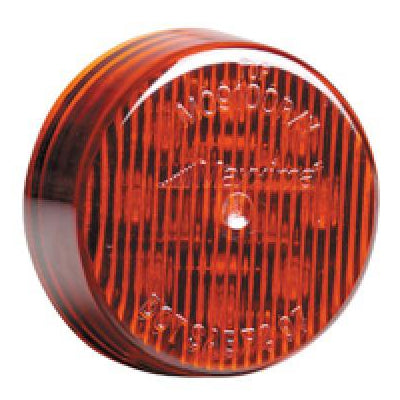 "Maxxima Red 9 diode 2"" round LED marker light"