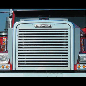 Freightliner Classic/FLD stainless steel grill w/14 horizontal bars