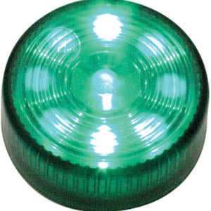 "Green 2"" round 9 diode LED marker/clearance light"
