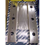 "Freightliner Classic 20"" Donaldson front air cleaner brackets w/6 combo light holes"