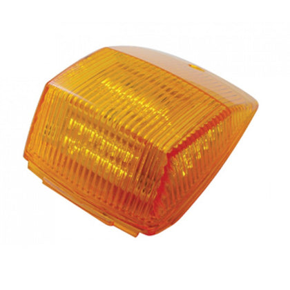 Amber 36 diode Kenworth-style rectangular LED cab light