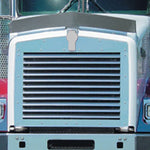 Kenworth T800 1995+ grill w/11 stainless steel louver-style bars