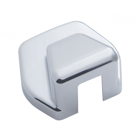 International chrome plastic hood latch cover - hood base, 2 pieces