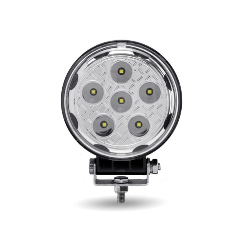 """Radiant Series"" White 13 diode LED work light with side diodes - SINGLE, 1080 lumens"