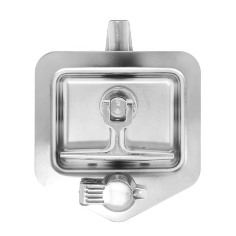 Stainless steel t-lock for toolbox (2 keys)