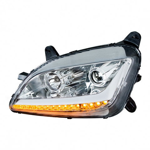 Peterbilt 579/587 projection-style replacement headlight