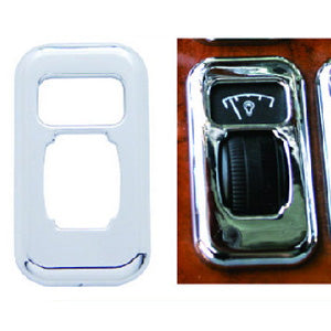 Peterbilt 379/389 2006+ chrome plastic dimmer switch cover