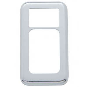 "International chrome plastic ""I"" dash switch trim - 3/PACK"