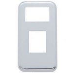International chrome plastic panel lights dash switch cover