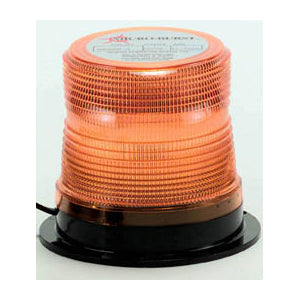 """Microburst"" Amber 5"" diameter LED beacon light"