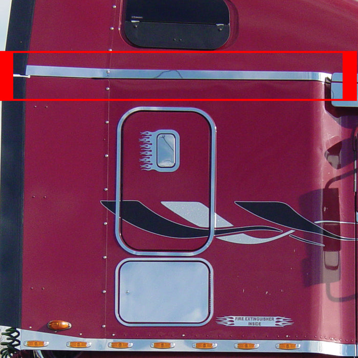 "Freightliner Century/Columbia upper sleeper trim for 70"" sleeper with 20"" wing - PAIR"