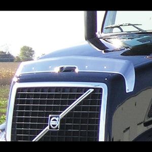 Volvo VN670/780, VT880 2003+ stainless steel bug deflector