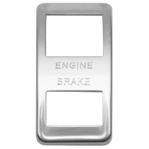 "Woody's Western Star stainless steel actuator cover - ""Engine Brake"""