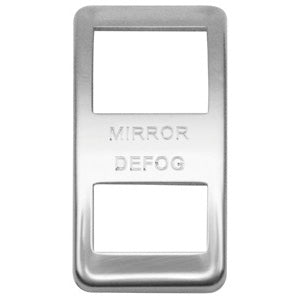 "Woody's Western Star stainless steel actuator cover - ""Mirror Defog"""