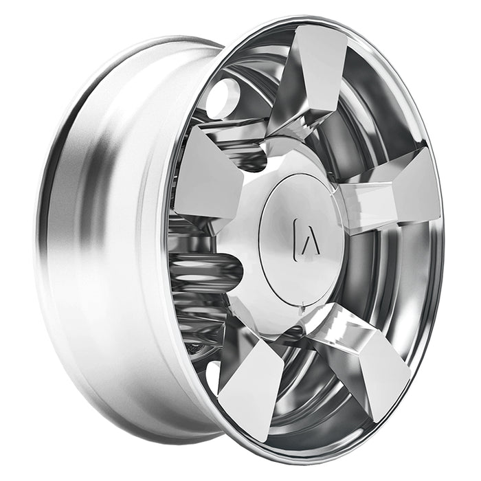 Viper 225 chrome plastic rear axle cover system - SINGLE