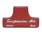 "Freightliner Classic/FLD ""Suspension Air"" glossy sticker only"