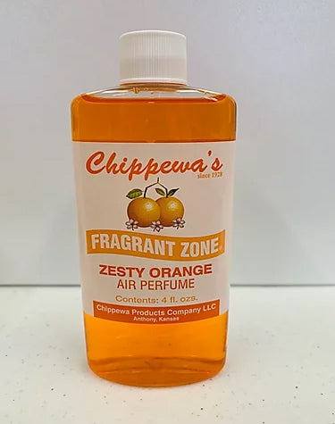 """Zesty Orange"" liquid air perfume / freshener by Fragrant Zone"