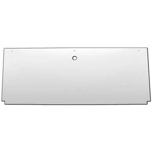 "14"" stainless steel rear center panel back"