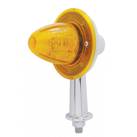"Amber 13 diode LED honda marker light with 2-1/8"" arm"